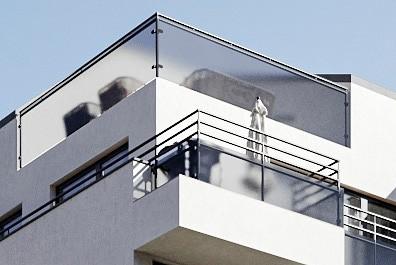 Saxonyards Maisonette mit Dachterrasse und Balkon