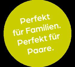 Button Perfekt fuer Familien